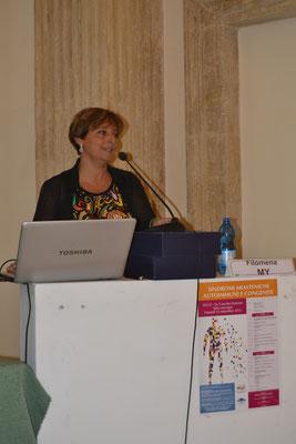 Dr.ssa Filomena My, U.O. Neurologia 'Vito Fazzi' di Lecce. Gestione e trattamento delle crisi miasteniche.