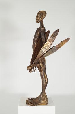 """""""Fänger"""" Einzelstück Bronze"""