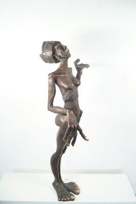 """The Queen""  Bronze  Edition 5+ 1EA 101x48x30cm"
