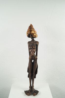 """Denkspirale""  Bronze  Edition 9+ 2EA 33x9x8cm"