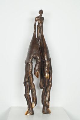 """Handlanger"" Bronze Edition 24+3EA 37x12x9cm"