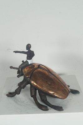 """Aufbruch""  Bronze  Edition 24+ 2EA 18x13x14cm"