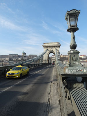 Budapest Ungarn Hungary Kettenbrücke