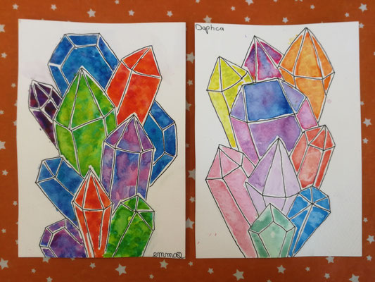 Diamants à l'aquarelle (CAB)