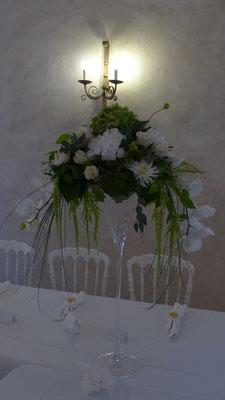 Coupe Martini Orchidée, Hortensia 90 euros