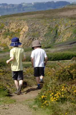 Zum Glück wandern unsere Kinder so gerne