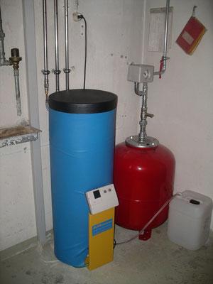 Behälter für Trägerflüssigkeit
