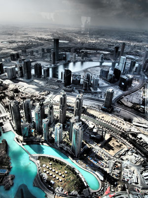 Panorama Burj Khalifa