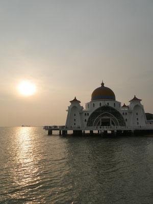 Malakka Reisebericht Floating Mosque