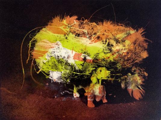 Kristin Finsterbusch, frinds 11, Fotopolymerdruck, 3 Platten, 15x20cm, 2021