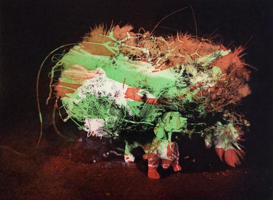 Kristin Finsterbusch, frinds 9, Fotopolymerdruck, 3 Platten, 15x20cm, 2021