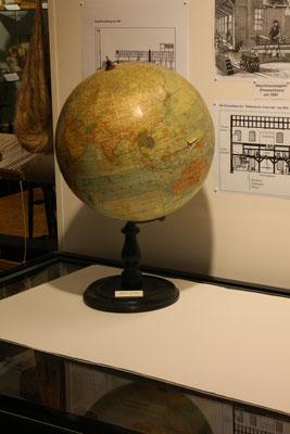 Globus aus der Zeit vor 1914 im Richard-Brandt-Heimatmuseum Wedemark