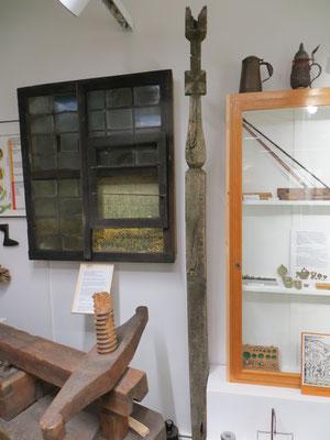 Der Wendenpfahl im Richard-Brandt Heimatmuseum