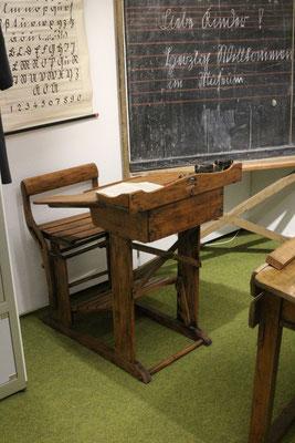 Lehrerpult im Richard-Brandt-Heimatmuseum Wedemark