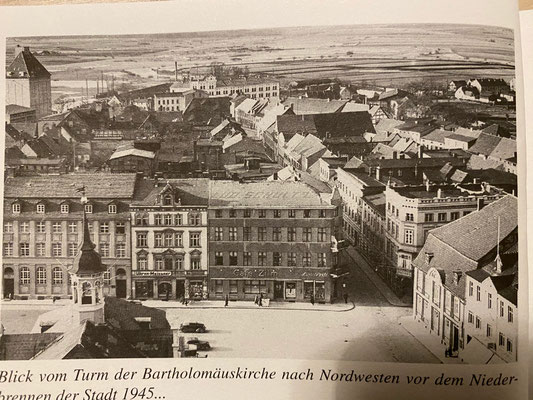 "Demmin before the Russians set it on fire (Picture:Buske, Norbert ""Das Kriegsende in Demmin 1945)"