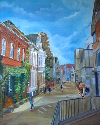 """""""Augustinessenstrasse"""" (80×100cm) 2016"""