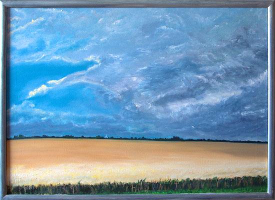 """""""Fehmarn"""" (70×50cm) 2011"""