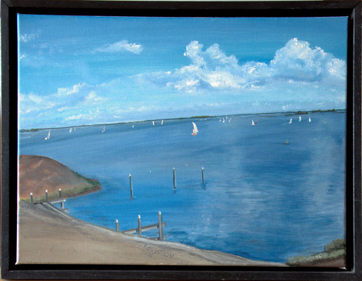"""""""Oude Tonge. Zuid Holland. Nordsee"""" (40×30cm) 2011"""