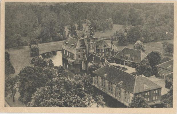 Luftaufnahme vom Schloss Sandfort