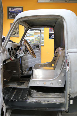 Aluminium Sitzbank mit Konsole