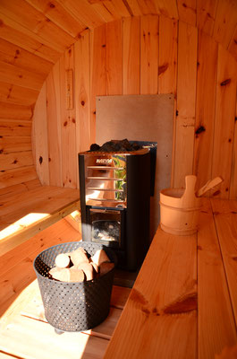 bed and breakfast met sauna