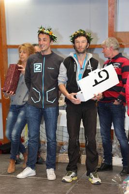 Les 2 vainqueurs exéco Alex Coin et Guillaume Taupenas en 1h 10 mn et 20 s
