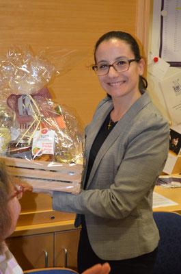 Jahreshauptversammlung 2020 - Dank an Elisabeth Burger - Tritt nach langjähiger Tätigkeit aus dem Vorstand aus.