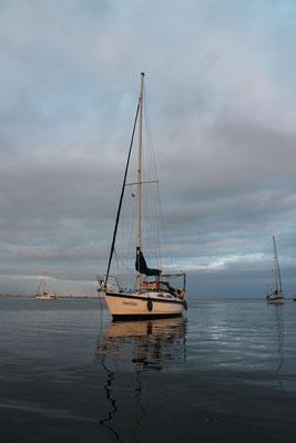 Ankern vor Isla Caleta II
