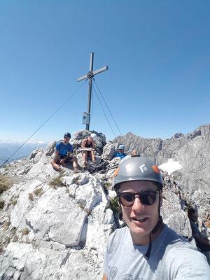 Am Hinteren Goinger Halt - Erster von zwei tollen Aussichtsgipfeln
