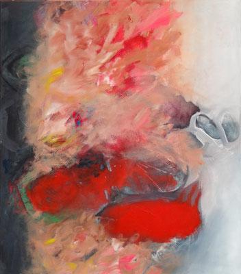 Klärung, Acryl-Pigmente auf Lwd, 80 x  70, 2014