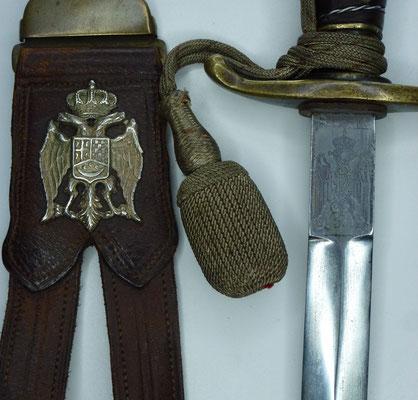 Dague officier armée de terre Yougoslave