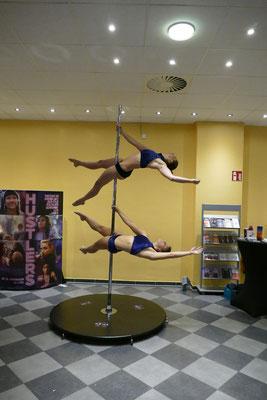 Auftritt Cineplex Planie Reutlingen 2020 Poledance Double