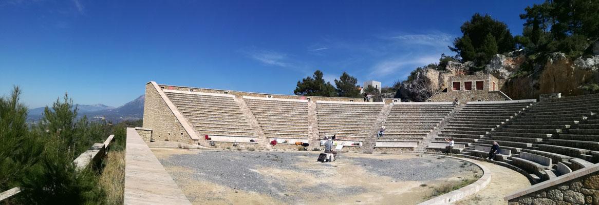 Picknick und Konzert in der Arena von Platsa!