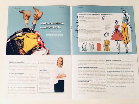 Kleiderschrank-Coaching Nicola Hahn - Pia Magazin