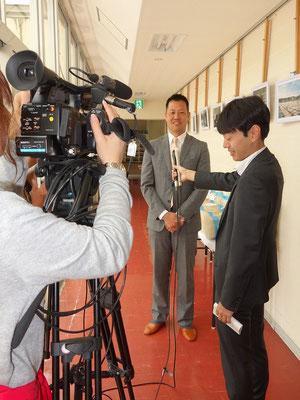 テレビ・新聞取材