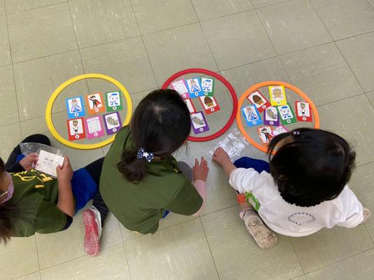 どれみLABO  幼稚園 リトミック 節分 みんなのどれみ 音階カード