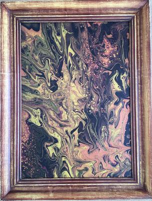 Acryl auf Leinwand, 70 x 50 cm, mit Rahmen