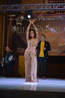 Performing at the biggest Bellydance Festival Ahlan Wa Sahlan 2019 in Cairo/Egypt
