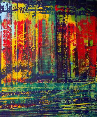 KERSTIN SOKOLL, Jungle Fever, 2020, O024, 120 x 100 cm