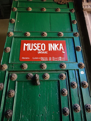 Im Inca Museum sahen wir....