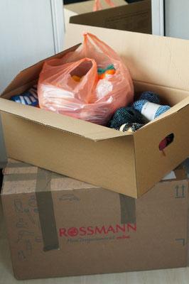 ALLE Wollspenden gingen an Monika Bolten (Stricken für Obdachlose) - Charity-Aktion 14.12.15