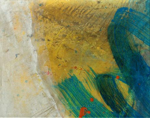 Sommerzeit 3,Acryl auf Papier, auf Lwd. gezogen,36 x 48,2006