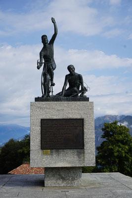 Das Denkmal für den Sieger und den geschlagenen