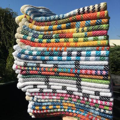 Handtücher von Glasgarnbunt