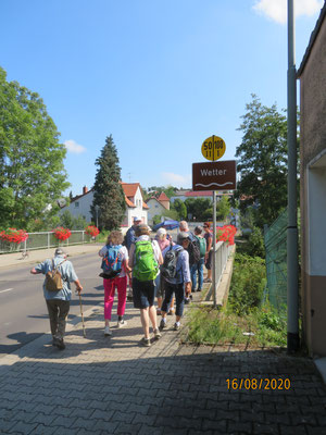 Wetterbrücke in Rödgen