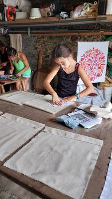 Talisman Forêt du Bager d'Oloron -Création avec Isabelle Claverie
