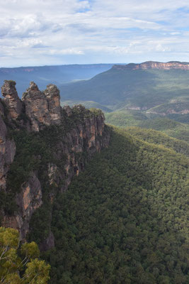 """Three Sisters"" in den Blue Mountains"