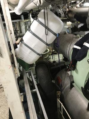RO Nachrüstung auf einem Kreuzfahrtschiff