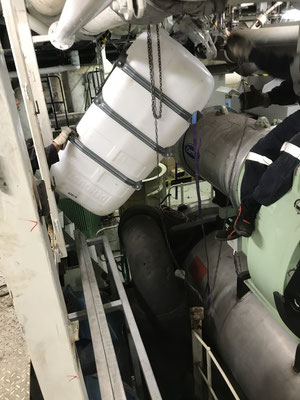 RO Refit Unit during installation