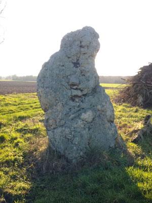 Menhir de Montifray (Beaumont-La-Ronce)